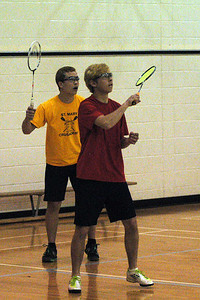 Nick C and Carl G just could not get it together for the Boys Doubles Seeding Tournament at STM and were unable to proceed out of the round robin play of top 12.  Definitely will be better at the Citys.