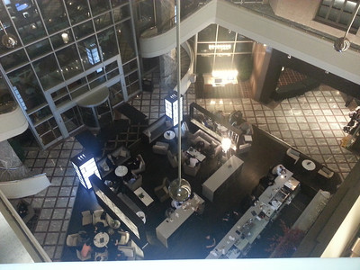 View of front foyer from the 4th floor