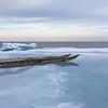 Qamutik near the ice edge