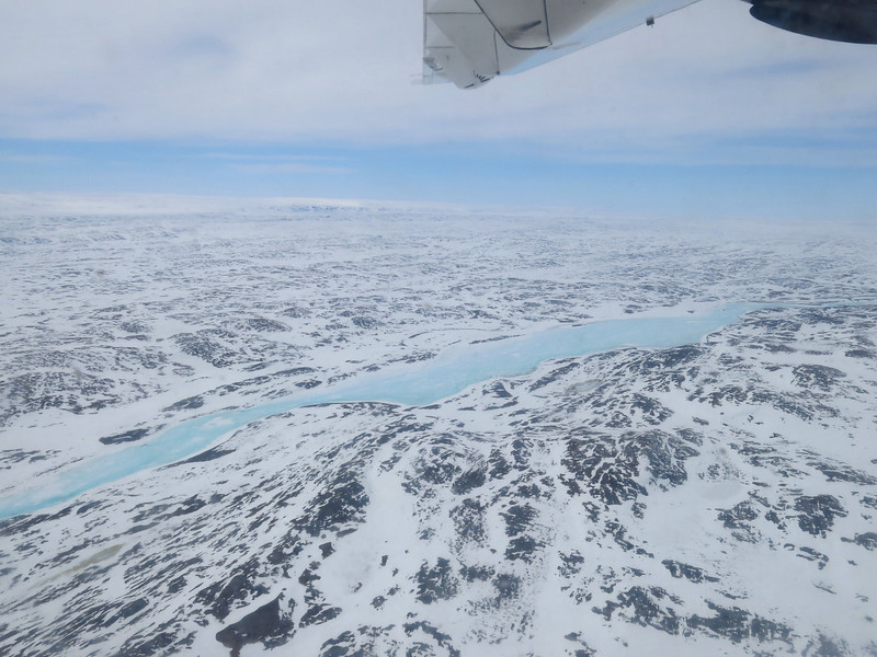 Central Baffin Island between Iqaluit and Clyde River