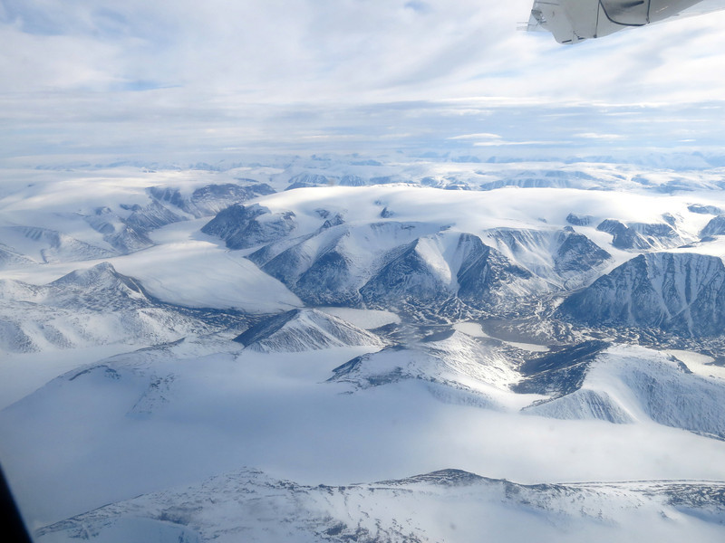 Scenery to the southeast of Pond Inlet