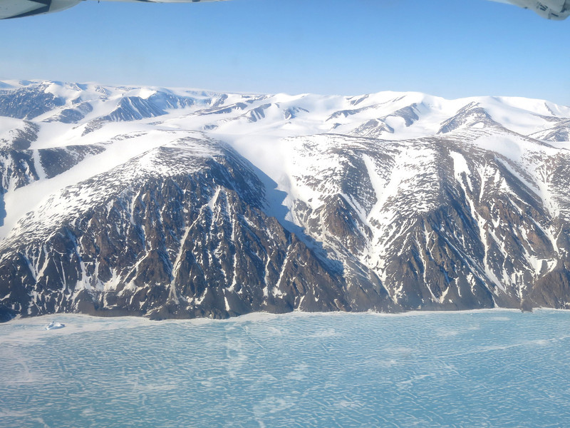 Dramatic Baffin Island scenery east of Pond Inlet