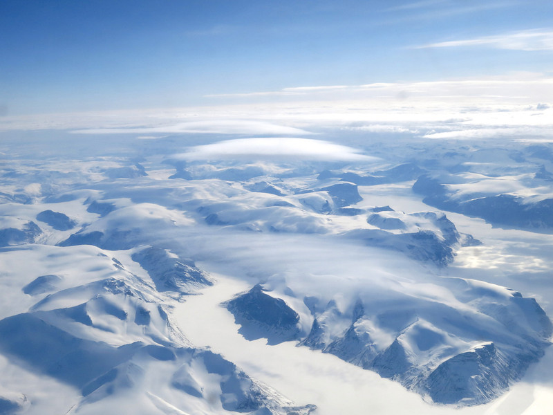 Looking towards central Baffin Island