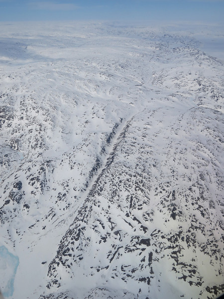 Approaching Iqaluit from the south