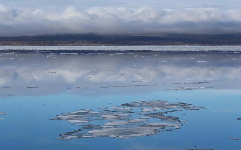 Sea ice in Eclipse Sound