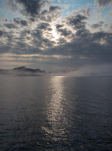 Evening light over Baffin Island