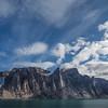 Spectacular scenery in Gibb's Fjord