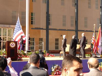 Amb Crocker, President Talabani, Dept Sec State Negroponte. January 5, 2009.