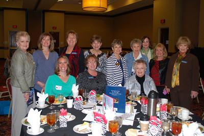 Back Row-Bobbie Platt, Lisa Eldridge, Katy Henkel, Karen Robbins, Linda Krysl, Bobbie Morgan, Janie Sokel, Judy Lemoine, Elizabeth Weathers; Front Row- Sarah Murderers, Peggy Rosenthal, Suzanne Webb1