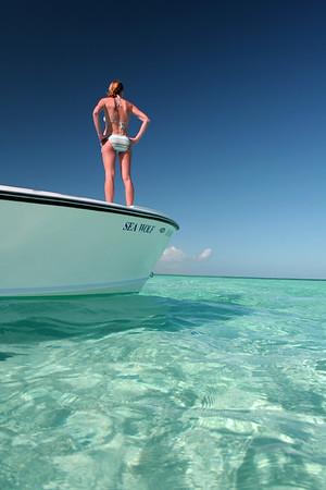 Tilloo Bank, Elbow Cay, Abacos, Bahamas