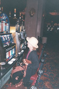 Lil at the slots