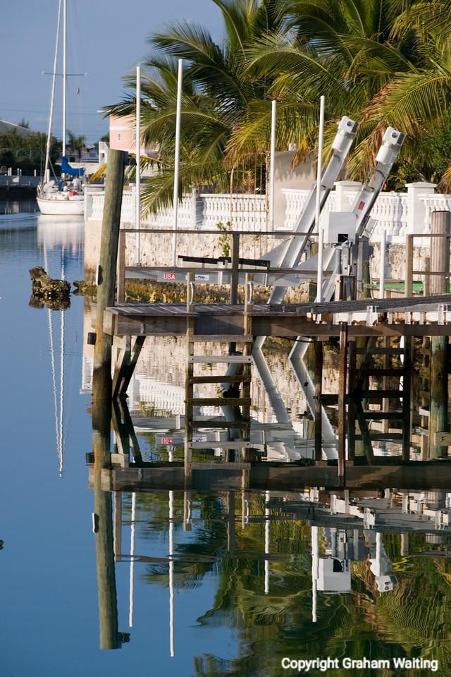 Boats in marina in Grand Bahama Grand Bahama