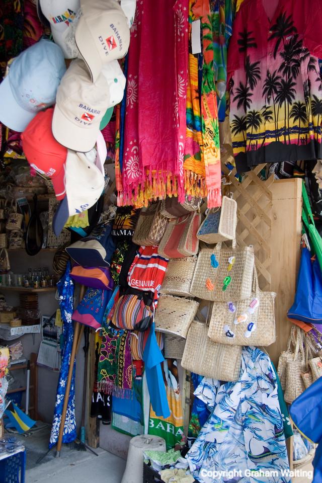Straw market, Bahama Grand Bahama