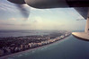 Pan Am Air Bridge Grumman G-73T Turbo Mallard N2969, January 1999 10.  Approaching Miami Beach.