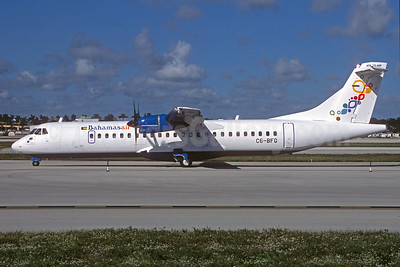 The first ATR 72-600 for Bahamasair