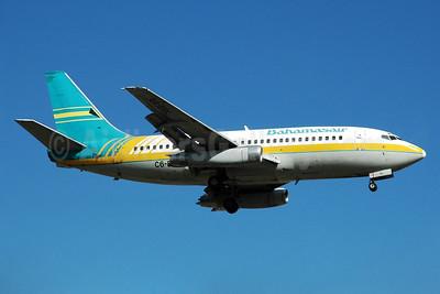 Bahamasair Boeing 737-275 C6-BGL (msn 22087) MIA (Bruce Drum). Image: 104400.
