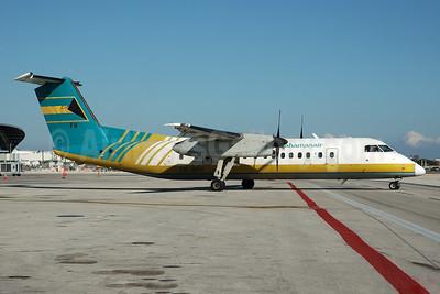 Bahamasair Bombardier DHC-8-301 C6-BFM (msn 196) MIA (Bruce Drum). Image: 104401.