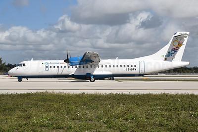 Bahamasair ATR 72-212A (ATR 72-600) C6-BFW (msn 1436) FLL (Bruce Drum). Image: 104918.
