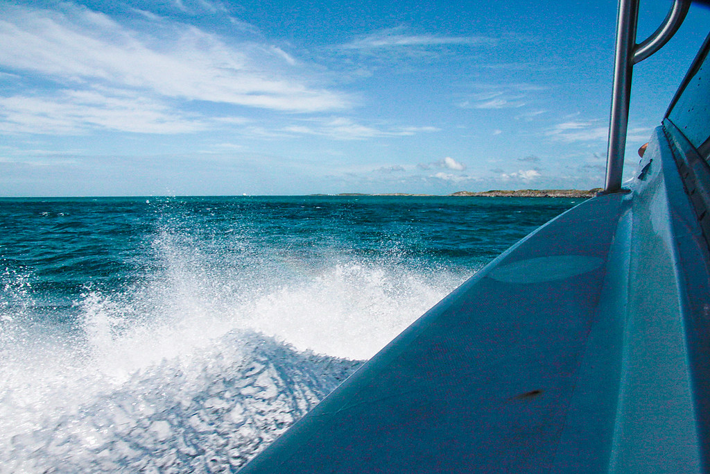 Getting to the Exuma's