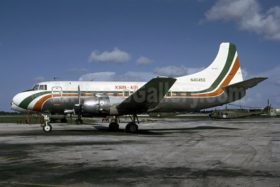 Kwin-Air Martin 404 N40450 (msn 14146) FLL (Bruce Drum). Image: 105542.