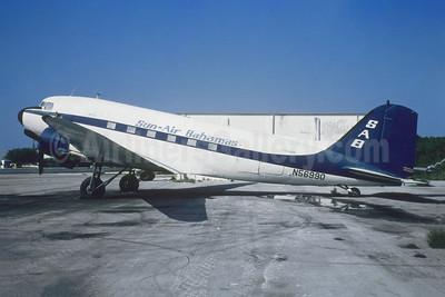 Sun-Air Bahamas - SAB Douglas C-47A-DL (DC-3) N56990 (msn 20404) WTD (Jacques Guillem Collection). Image: 953703.