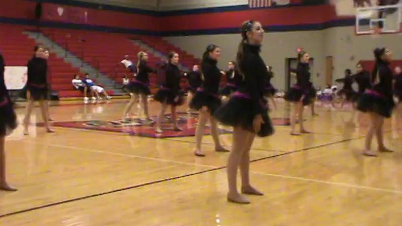 Team Contemporary Routine Video 02-03-12