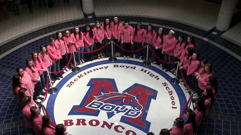 Mar. 26, 2015 - Kiss the Bronco for Nationals