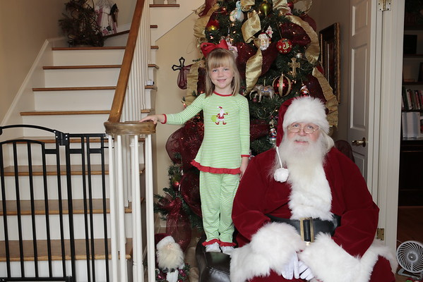 Bailey Breakfast With Santa 2014