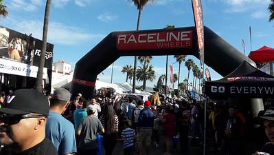Baja 1000 race Start in Ensenda, 2017