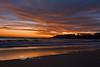 Beautiful Sunset off Los Cerritos Beach, Baja Sur