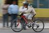 Bike Race through the streets of Bahía Asunción