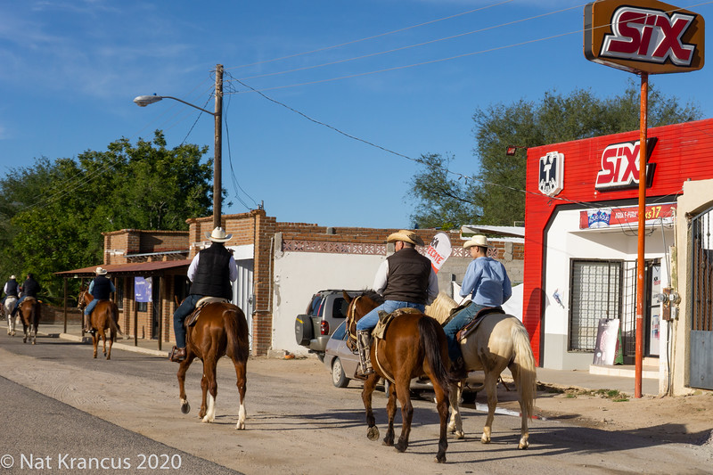 Cowboys Outside La Paz, Baja California Sur, Mexico, January 2019