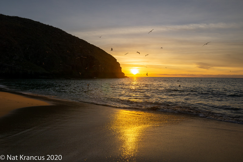 Sunset, Punta Lobos, Todos Santos, Baja California Sur, Mexico, January 2019