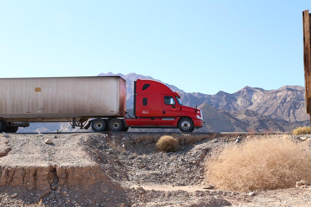 Trucker red