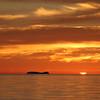 Sunrise over Isla Las Animas