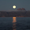 Moonrise over Isla Santa Catalina
