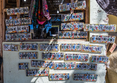 """Tourist Trappings"" at Todos Santos"