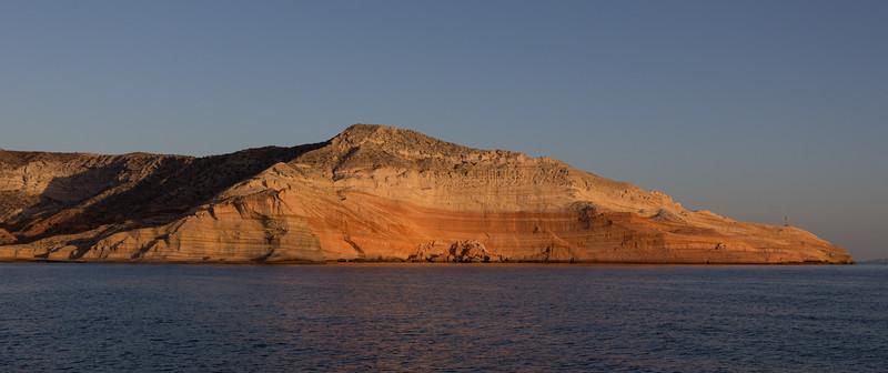 Sunrise at Punta Colorada