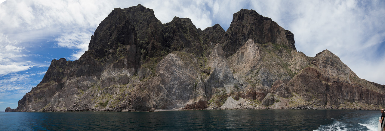 Panorama in the Sea of Cortez