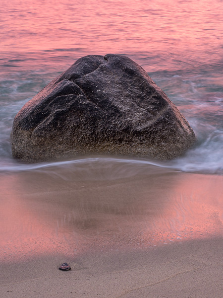 Large Rock, Small Rock, and the Color of Daybreak
