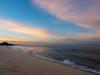 Clouds and Beach at Dawn