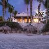 Casa Dina at Dawn, as Seen from Beach