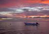 Boat Moored at Sunrise