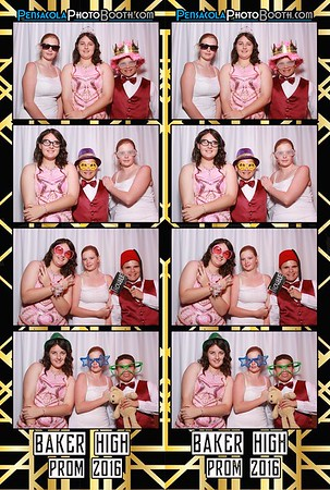 Baker High School Prom 4-16-2016