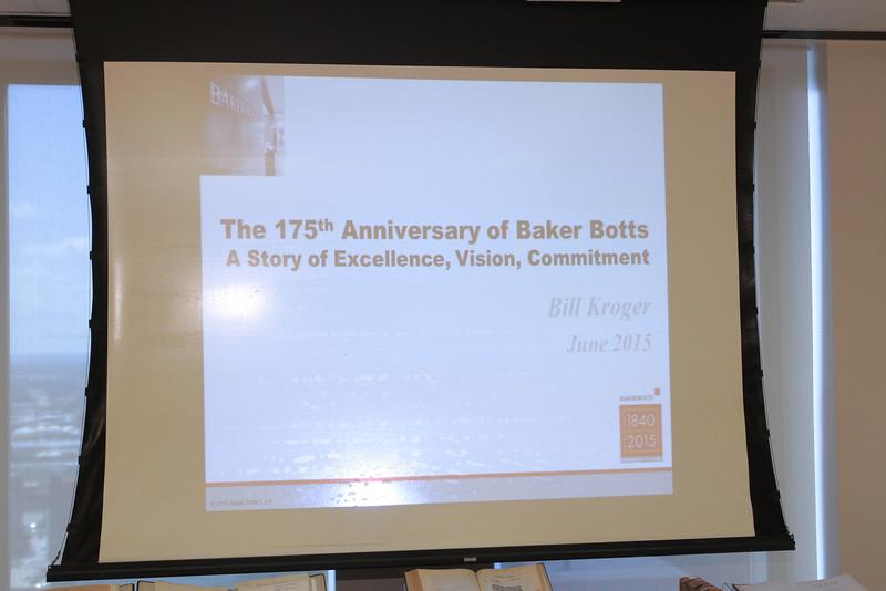 175th Anniversary of Baker Botts