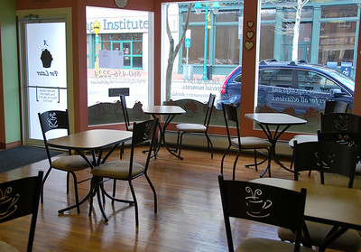 Sitting area at A Cupcake For Later