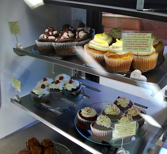 Some of the cupcakes available at A Cupcake For Later