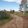 "Nice, new, dry entry. Used to be nicknamed ""The Bog"". Now, with a new culvert and some gravel it provides safe passage."