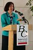 Ms. Sandra Serano, chancellor of the Kern Community College District