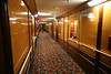 Spooky hallways on the M deck.